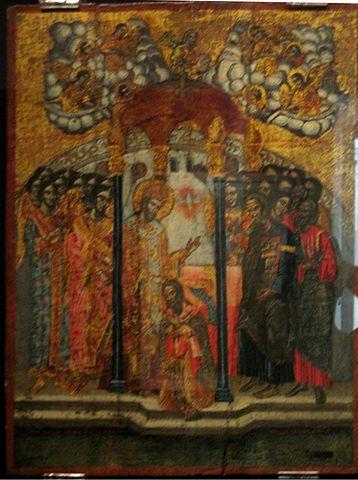Посвящение святого Иакова Младшего в сан епископа Иерусалимского
