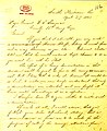 Contemporary copy of letter from U. S. Grant, Smith's Plantation, Louisiana, to General W. T. Sherman, April 27, 1863.jpg