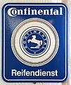 Continental Reifendienst Emaille Werbeschild.JPG