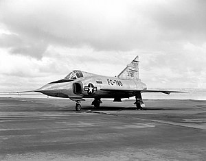 Convair YF-102 53-1785 on ramp E-1563.jpg