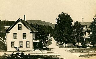 Eaton, New Hampshire - Conway Street c. 1910