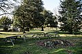 Copped Hall garden outdoor tables, Epping, Essex, England.jpg