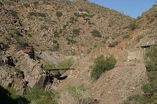 Copper Creek, Arizona Ghost town in Arizona, United States