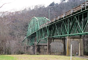 Cordell Hull Bridge - The Cordell Hull Bridge in 2010
