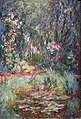 Corner of Water Lily Pond by Claude Monet, 1918-1819, private collection.JPG