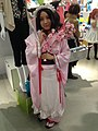 Cosplay of Susukihotaru from Otome Yōkai Zakuro at the 2013 Cosplay Mart (10490826454).jpg