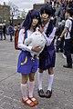 Cosplayers of Anko Kitashirakawa and Tamako Kitashirakawa at CWT39 20150301a.jpg