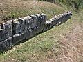 Costesti Cetatuie Dacian Fortress 2011 - Murus Dacicus-2.jpg