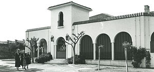 Cottesloe Civic Centre - Cottesloe Civic Centre (Overton Lodge) in Spanish Mission syle c1950
