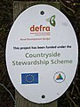 Countryside Stewardship Scheme sign - geograph.org.uk - 726323.jpg