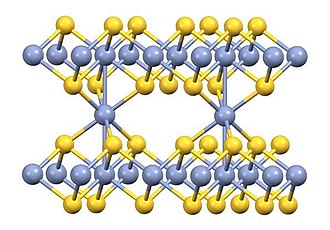 Chromium(III) sulfide - Image: Cr 2S3 structure