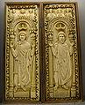 Cremona, museo civico, i santi acacio e teodoro, avorio, fine xi secolo.JPG