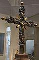 Creu d'estil rococó, segle XVIII, museu de Belles Arts de València.JPG