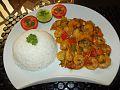 Crevettes sautées à la Camerounaise et son riz blanc.jpg