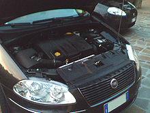 Il motore 1.9 Multijet 120 cavalli nel cofano della Fiat Croma