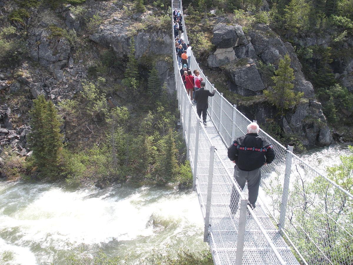 Yukon Suspension Bridge Wikipedia