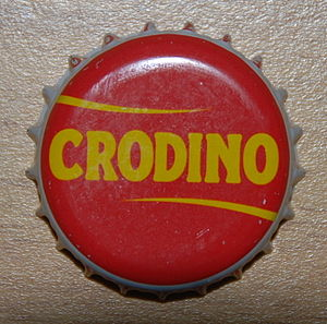 Crodino - Crown cork of Crodino