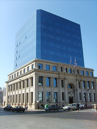 CSAV - CSAV headquarters in Valparaíso.