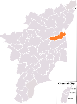 Cuddalore (Lok Sabha constituency) - Cuddalore constituency, post-2008 delimitation