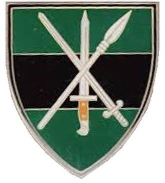 10 South African Infantry Battalion - Image: Current SANDF Infantry flash
