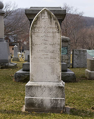 Alonzo Cushing - Cushing's headstone at West Point
