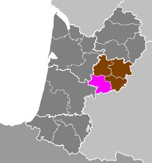 Arrondissement of Nérac - Image: Département de Lot et Garonne Arrondissement de Nérac