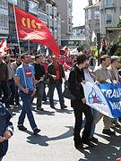 Día do traballo. Santiago de Compostela 2009 38.jpg
