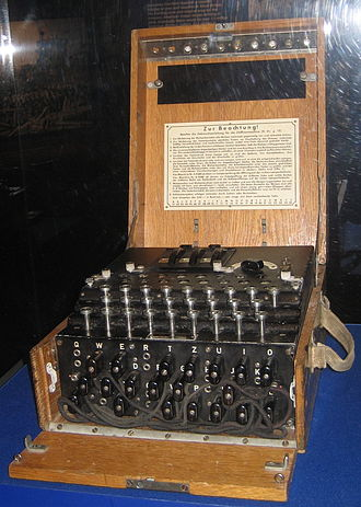 The National WWII Museum - Image: D Day Museum Enigma Mach