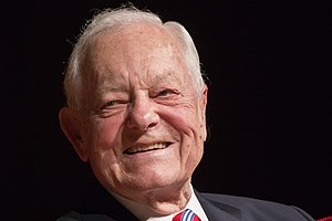 Bob Schieffer - Schieffer at the LBJ Library in 2016