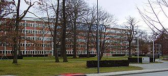 Deutsches Patent- und Markenamt - Cincinnatistraße branch, Munich.