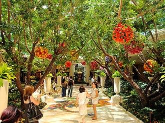 Wynn Las Vegas - Indoor garden of Wynn Las Vegas