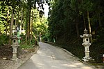 Dai Jingu(Cha Soumei)-Shrine in Yuyadani, Ujitawara, Kyoto August 5, 2018 01.jpg