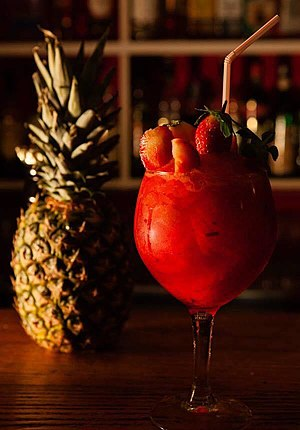 Daiquiri - Strawberry daiquiri by Rey del Mojito
