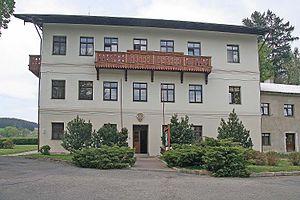 Dalečín - Image: Dalečín zámek