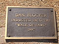 Dan Blocker on West Texas Walk of Fame, Lubbock IMG 0081.JPG