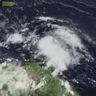 Tropical Storm Danielle (1986) Atlantic tropical storm in 1986