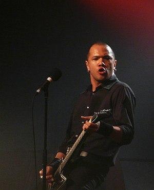 Danko Jones - Danko Jones, vocals/guitar. Live in Rouen, France 2008