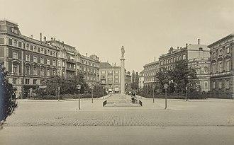Dantes Plads - Dantes Plads in 1924