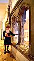 Das Deutschordensmuseum. Lorenz Fries, verkörpert durch Karlheinz Haug, führt durch das Schloss.jpg