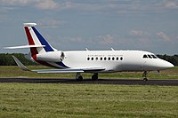 Dassault Falcon 2000EX France - Air Force F-RAFC, LUX Luxembourg (Findel), Luxembourg PP1370627014.jpg