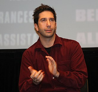 David Schwimmer - Schwimmer in 2007 at the premiere for Run Fatboy Run, a movie that he directed