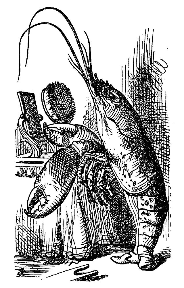 The Lobster Illustrated By John Tenniel