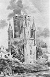 de drogenapstoren zonder spits te zutphen, vermoedelijk naar h.van spies (1775-1841), ongedateerd - zutphen - 20226440 - rce