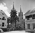 De houten SS Petrus-en-Pauluskathedraal aan de Gravenstraat in Paramaribo, Bestanddeelnr 252-6098.jpg