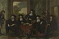 De inspecteurs van het Collegium Medicum te Amsterdam, 1683. Rijksmuseum SK-C-360.jpeg