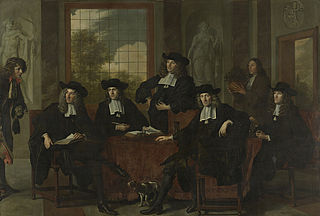 The superintendents of the Collegium Medicum in Amsterdam