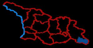 Dedoplistsqaro Municipality - Dedoplis Tsqaro District