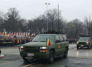 Commercial Utility Cargo Vehicle - LSSV Tahoes in Romania