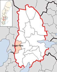 Degerfors Municipality in Örebro County.png