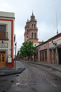 Jerez de García Salinas Place in Zacatecas, Mexico